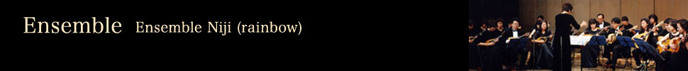 Ensemble Niji (rainbow)