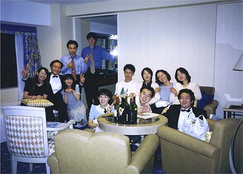 片岡マンドリン研究所発表会30周年記念企画実行委員会打上げ
