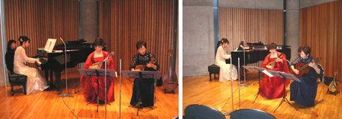 二つのマンドリンとピアノの音楽会